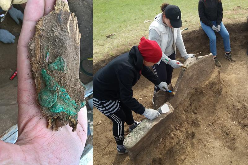 Археологиялық құнды заттар табылды