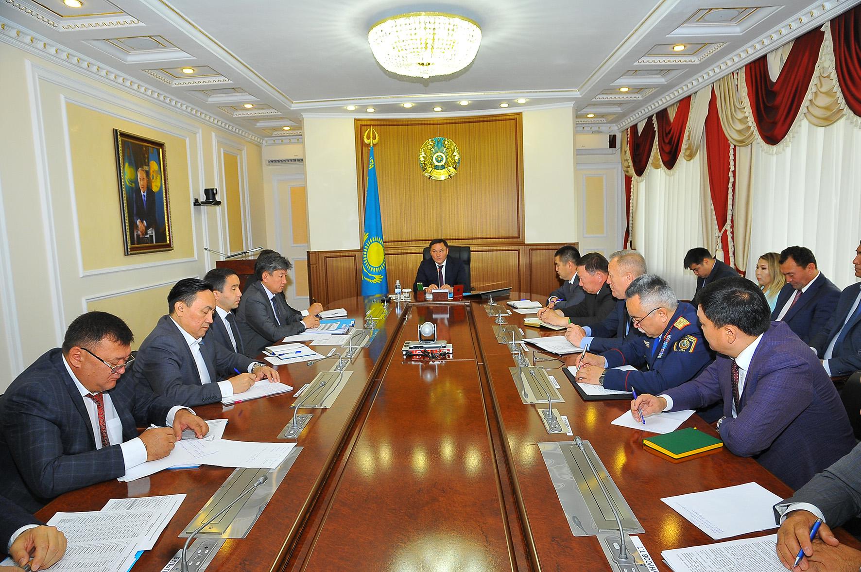 Ақмола облысының әкімі Ермек Маржықпаев:  «Үкімет басшысы нақтылы міндеттер қойды. Біз – орындауға тиістіміз!»