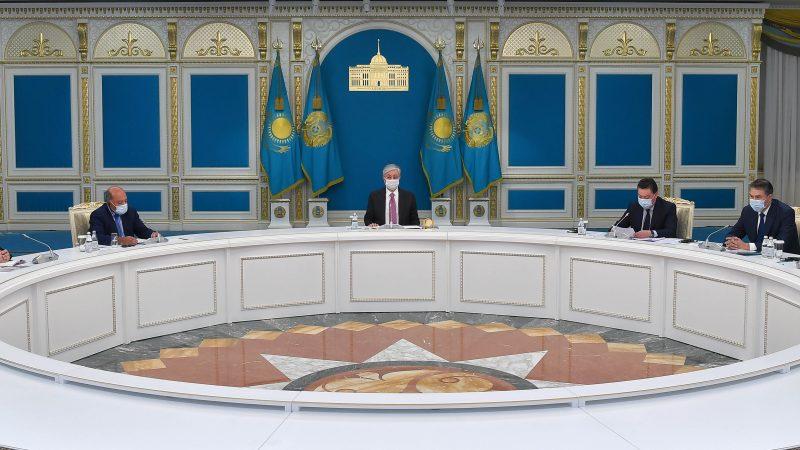 (Ақорда. 21 қазан 2020) Мемлекет басшысы Реформалар жөніндегі жоғары кеңестің бірінші отырысын өткізді