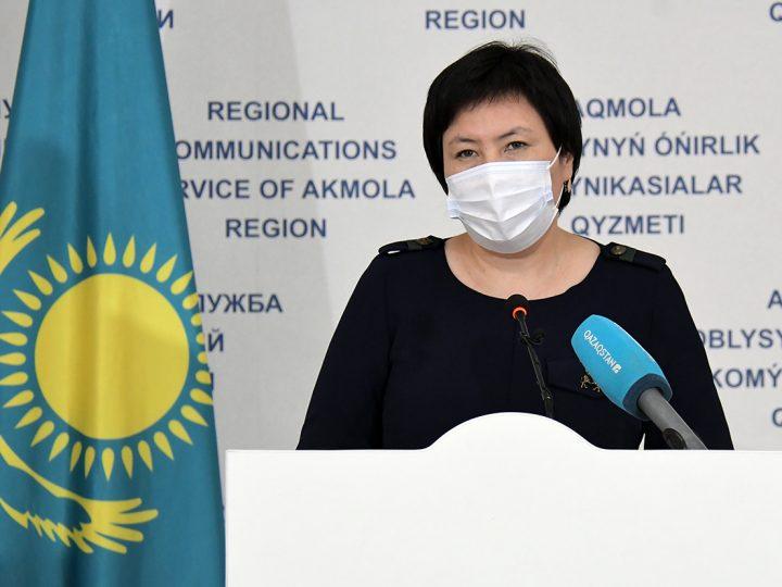 Ақмола облысы – қызыл аймақта