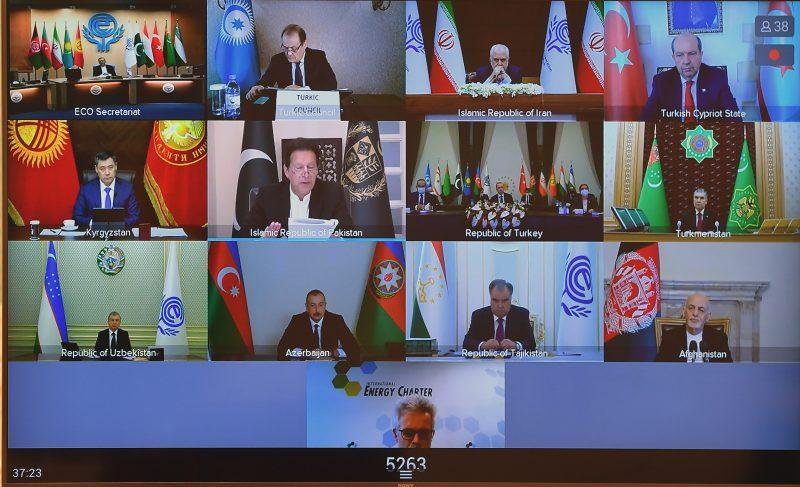 Қазақстан Президенті Экономикалық ынтымақтастық ұйымының 14-саммитіне қатысты