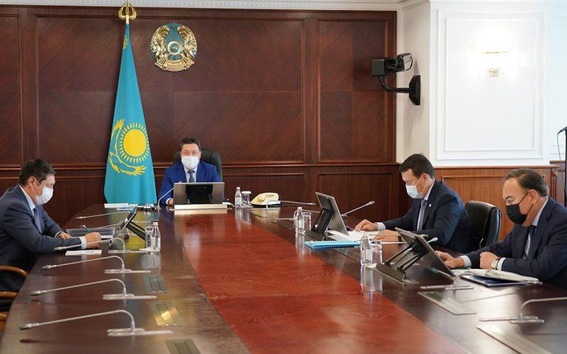 ҚР Премьер-Министрі А. Мамин Инвестициялық штаб отырысын өткізді