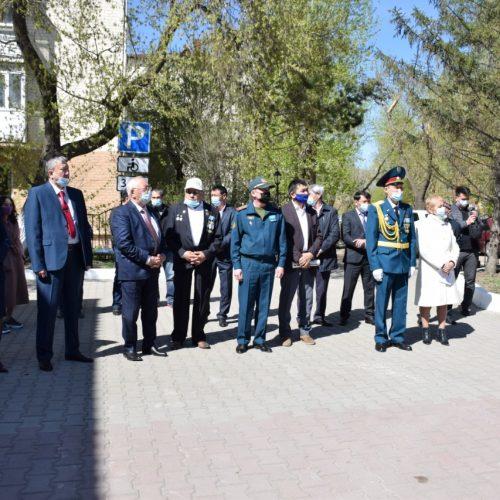 Жеңістің 76 жылдығы: Көкшетауда «Майдангерлер мұрасы» атты көрме ұйымдастырылды