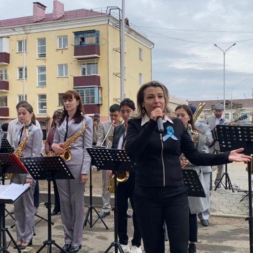 Көкшетауда соғыс ардагерлерінің құрметіне концерт ұйымдастырылды
