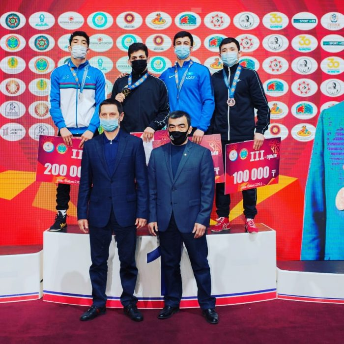 Ақмолалық балуан халықаралық турнирдің жүлдегері атанды