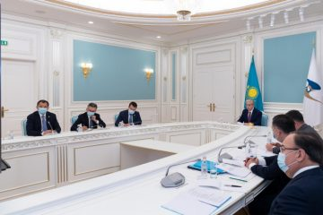Президент Қасым-Жомарт Тоқаев Жоғары еуразиялық экономикалық кеңестің отырысына қатысты