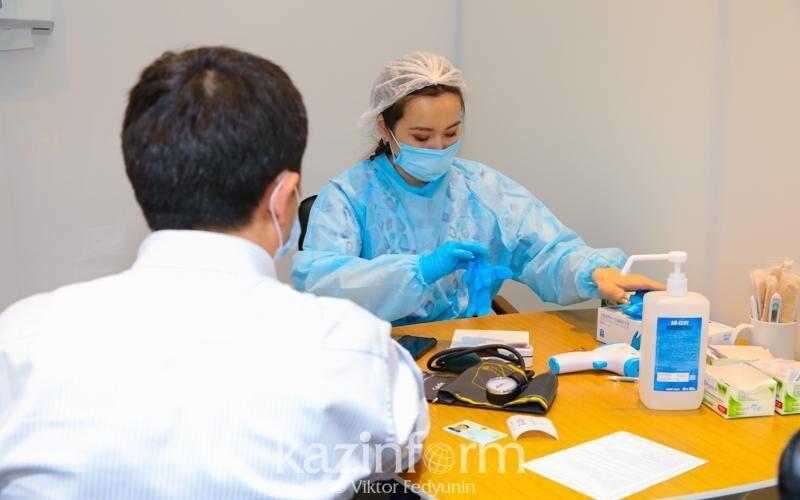 Бурабайда вакцинацияланған теміржол жұмысшылары ақылы демалыс алады
