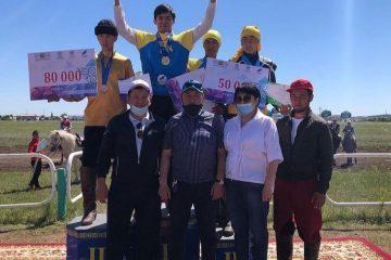 Ақмолалық теңге ілуден Қазақстан чемпионатында күміс иеленді