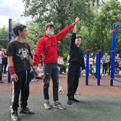 Көкшетауда «Street workout»-тен чемпионат өтті
