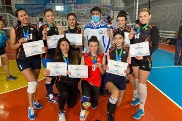 Зерендіде волейболдан Ақмола облысының чемпионаты өтуде
