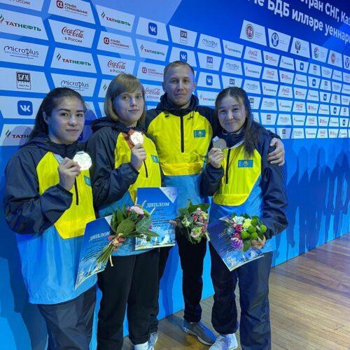 Ақмолалық спортшылар ТМД елдерінің ойындарында қоржынға үш медаль салды