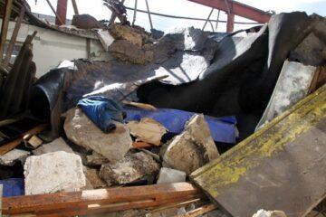 Көкшетауда үйдің шатыры опырылып, 63 жастағы зейнеткер көз жұмды